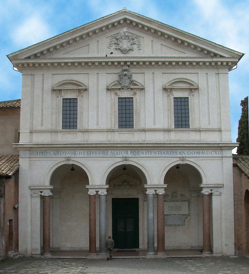 San Sebastián Extramuros, fachada.