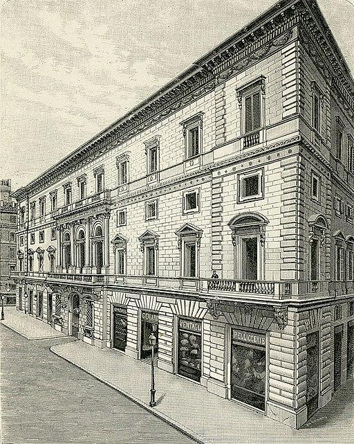 Roma Palazzo Marignoli