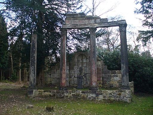 Roman Ruins, Virginia Water - geograph.org.uk - 1803256