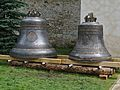 Romania Putna Monastery Former Church Bells.jpg