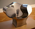 Ron Arad - The Big Easy chair in chrome steel.jpg