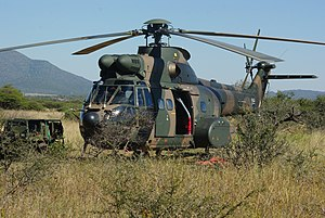 87 Helicopter Flying School SAAF - Atlas Oryx