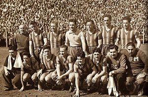 Rosario Central - Central won its second promotion to Primera División in 1951.