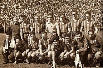Rosario Central - Central won its second promotion to Primera División in 1951