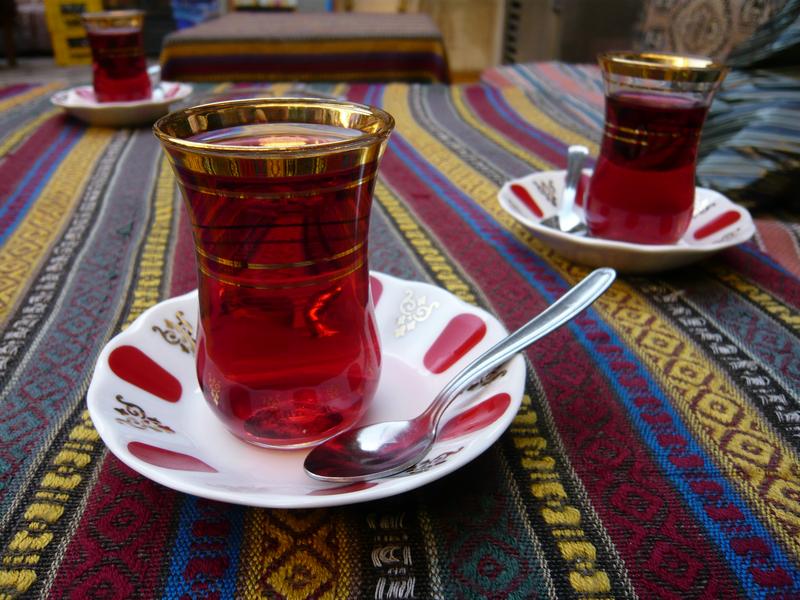le thé au cynorhodons de turquie