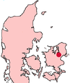 Roskilde Denmark location map.png