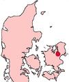 Roskilde Denmark location map.png
