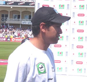 English: Ross Taylor at Trent Bridge June 2008