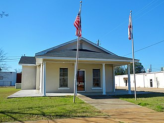 Columbia, Alabama - Image: Rossie Purcell Public Library Columbia, Alabama