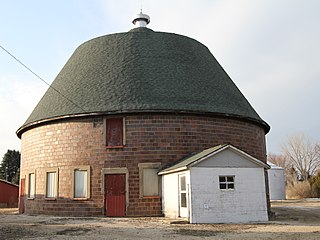 Round Barn, Washington Township (Janesville, Iowa) building in Janesville, Iowa