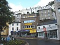 Roundabout, at the top of Fleet Street, Torquay - geograph.org.uk - 1388575.jpg