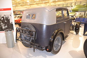 Rover Light Six - rear view