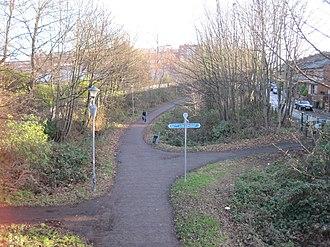 Rowntree Halt railway station - Site of the former halt in 2012