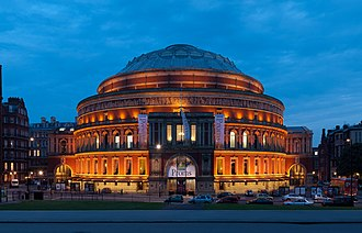 History of the Eurovision Song Contest - London. Royal Albert Hall, venue of 1968 contest.
