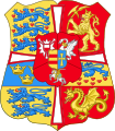 Royal Arms of Norway & Denmark (1699-1819).svg
