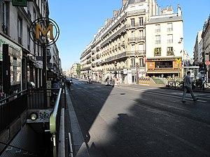 Rue La Fayette - rue La Fayette