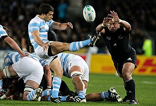 History of rugby union matches between Argentina and New Zealand