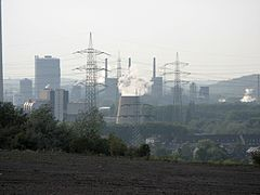 Ruhrgebiet industrie