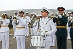 Russian EMD band at the Vostok parade 02.jpg