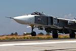 Russian military aircraft at Latakia, Syria (13).jpg