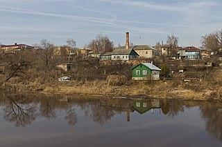 Ryazhsk Town in Ryazan Oblast, Russia