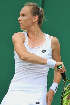 Magdaléna Rybáriková - Rybáriková at the 2017 Wimbledon Championships