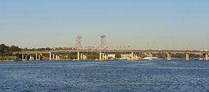 Ryde Bridge - Image: Rydebridge 1