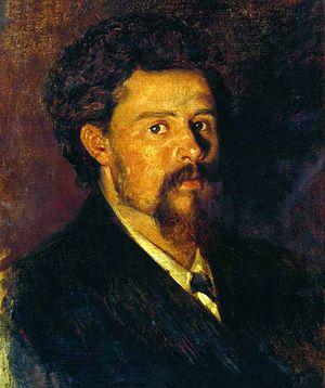 Sergei Korovin - Self-portrait (date unknown)