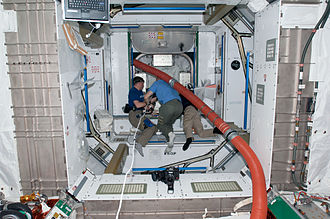 Tranquility (ISS module) - Interior of Tranquility