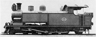 South African Class G 4-8-2T - NGR Class E no. 250, later SAR Class G no. 197