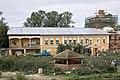 SDIM8199 Nikolo-Peshnoshsky Monastery in Lugovoy (Николо-Пешношский монастырь в Луговой). Quad restoration activities. (8223204005).jpg