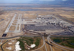 Salt Lake City International Airport - Salt Lake City International Airport in 2010