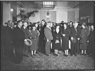The Broken Melody (1937 film) - Premiere of The Broken Melody