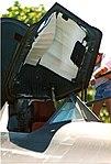 SR-71 Pilots ejection seat & open canopy (4527977194).jpg