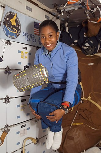 Stephanie Wilson - Wilson during STS-120