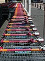 Sainsbury's supermarket shopping trolleys at Chingford, London, England 3.jpg