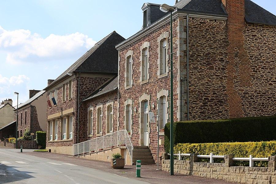 Mairie de Saint-Maugan.