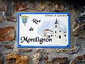 Saint-Prix - Rue de Montlignon - Plaque.jpg
