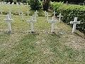 Saint-Rémy-la-Calonne (Meuse) nécropole nationale (10) quatre tombes de la compagnie d'Alain-Fournier.JPG