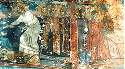 Saint Nicholas in Lyumanishta Fresco.jpg