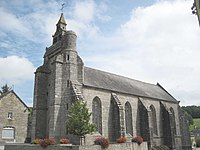 Saint Nicolas Du Pelem - Eglise Vue de droite.jpg