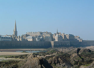Saint-Malo Subprefecture and commune in Brittany, France