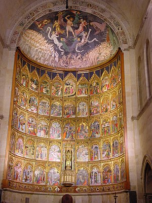 Old Cathedral of Salamanca - The apse