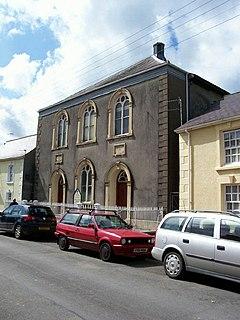 Salem Independent Chapel, Llandovery Church in Wales, United Kingdom