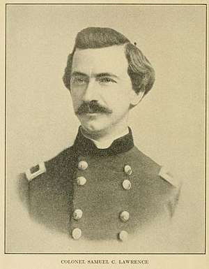 5th Regiment Massachusetts Volunteer Militia - Colonel Samuel C. Lawrence, commanding officer of the 5th Massachusetts Militia in 1861