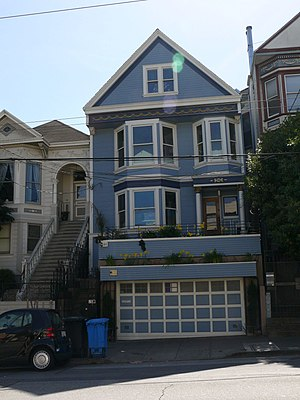 Maxime Le Forestier - The blue house, in San Francisco