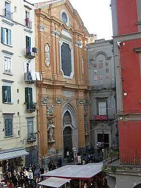 Image illustrative de l'article Basilique San Lorenzo Maggiore (Naples)