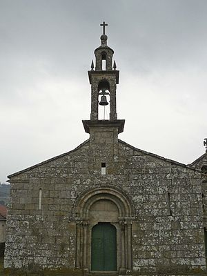 San Pedro de Ansemil.Fachada occidental.JPG