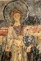 San lorenzo in insula, cripta di epifanio, affreschi di scuola benedettina, 824-842 ca., madonna in trono bendicente e sei angeli con scettro e globo 07.jpg