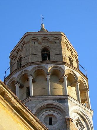 San Nicola, Pisa - Top of the bell tower.
